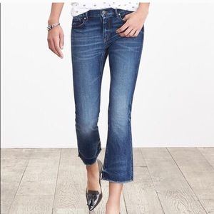Banana Republic Crop Flare Jeans